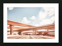 Dolphin Expressway 002 Picture Frame print