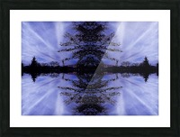 Cloudes 94 Picture Frame print