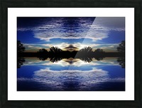 Cloudes 97 Picture Frame print