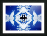 Cloudes 104 Picture Frame print