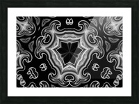 Abstract digital Art Picture Frame print