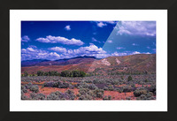Painted Hills Picture Frame print