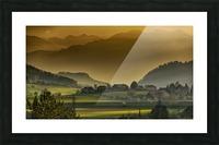 landscape autumn twilight mountains_1588527933.2293 Picture Frame print