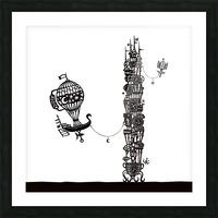 Torre dell orologio Picture Frame print