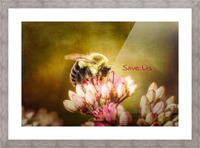 Save Us Picture Frame print