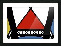 Bridge XII Picture Frame print