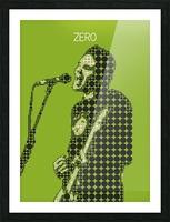 Zero   billy Corgan Picture Frame print