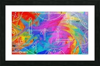 The Colors of The Wind Picture Frame print