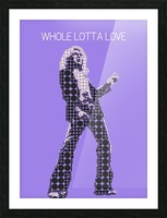 Whole Lotta Love   Robert Plant Picture Frame print