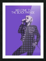 Welcome To The Black Parade   Gerard Way Picture Frame print