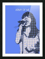 army of me   Bjork Picture Frame print