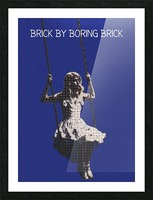 Brick By Boring Brick   Hayley Williams   Paramore Picture Frame print