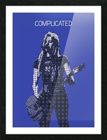 Complicated   Avril Lavigne Picture Frame print