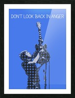 Dont Look Back In Anger   Noel Gallagher Picture Frame print