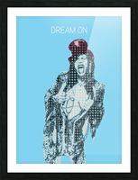 Dream On   Steven Tyler   Aerosmith Picture Frame print