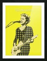 Feeling Good   Matt Bellamy Picture Frame print