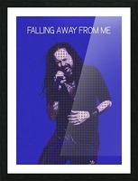 Falling Away from Me   Jonathan Davis   Korn Picture Frame print