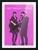 Everything Has Changed   Taylor Swift and Ed Sheeran  Picture Frame print