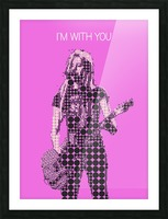 im with you   Avril Lavigne Picture Frame print