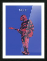 Milk It   Kurt Cobain   Nirvana Live in Chicago October 23 1993 Picture Frame print