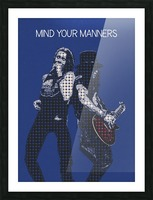 mind your manners   Slash ft Myles Kennedy The Conspirators Picture Frame print