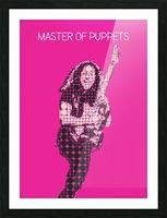 Master Of Puppets   Kirk Hammett Picture Frame print