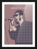 Man in the Box   Layne Staley Picture Frame print