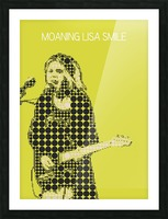 Moaning Lisa Smile   Wolf Alice Picture Frame print