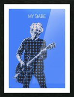 My Babe   Keith Richards Picture Frame print