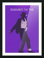 remember the time   Michael Jackson Picture Frame print