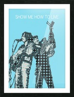 Show Me How to Live   Chris Cornell and Tom Morello Picture Frame print