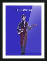 The Jean Genie   David Bowie Picture Frame print