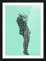 This Land is Your Land   Taylor Momsen Picture Frame print