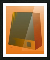 Office Building 2 VA Picture Frame print