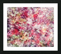 Rambling roses Picture Frame print