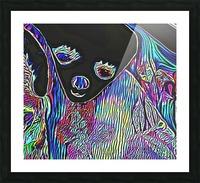 Neon Dreams Picture Frame print