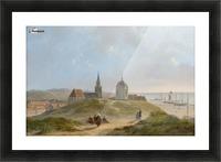 View on Scheveningen Picture Frame print