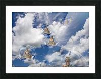 Cyborgs Meditation Picture Frame print
