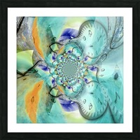 Infinite Vibes Picture Frame print