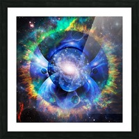 Mystic Universe Picture Frame print