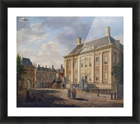 Het Mauritshuis te Den Haag Picture Frame print