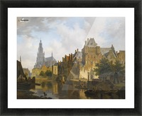 A Capriccio View Of The Hofvijver, The Hague Picture Frame print