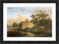 View of a Dutch City Picture Frame print