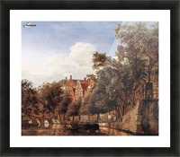 View of the Herengracht, Amsterdam Picture Frame print