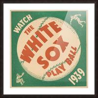 1939 Chicago White Sox Art Picture Frame print