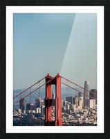 Threading the Needle - Golden Gate Bridge Picture Frame print