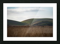 Coyote Hills During Sunset Picture Frame print