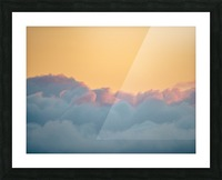 Clouds at Sunset Picture Frame print