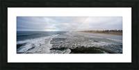 Huntington Beach Panorama Picture Frame print