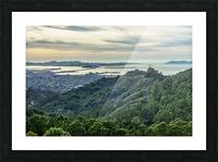 San Francisco Skyline From Berkeley  Picture Frame print